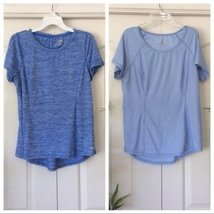Head & Avia Large Blue Athletic Workout Tops